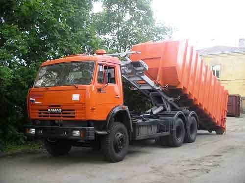 Вывоз мусора в пос. имени Морозова